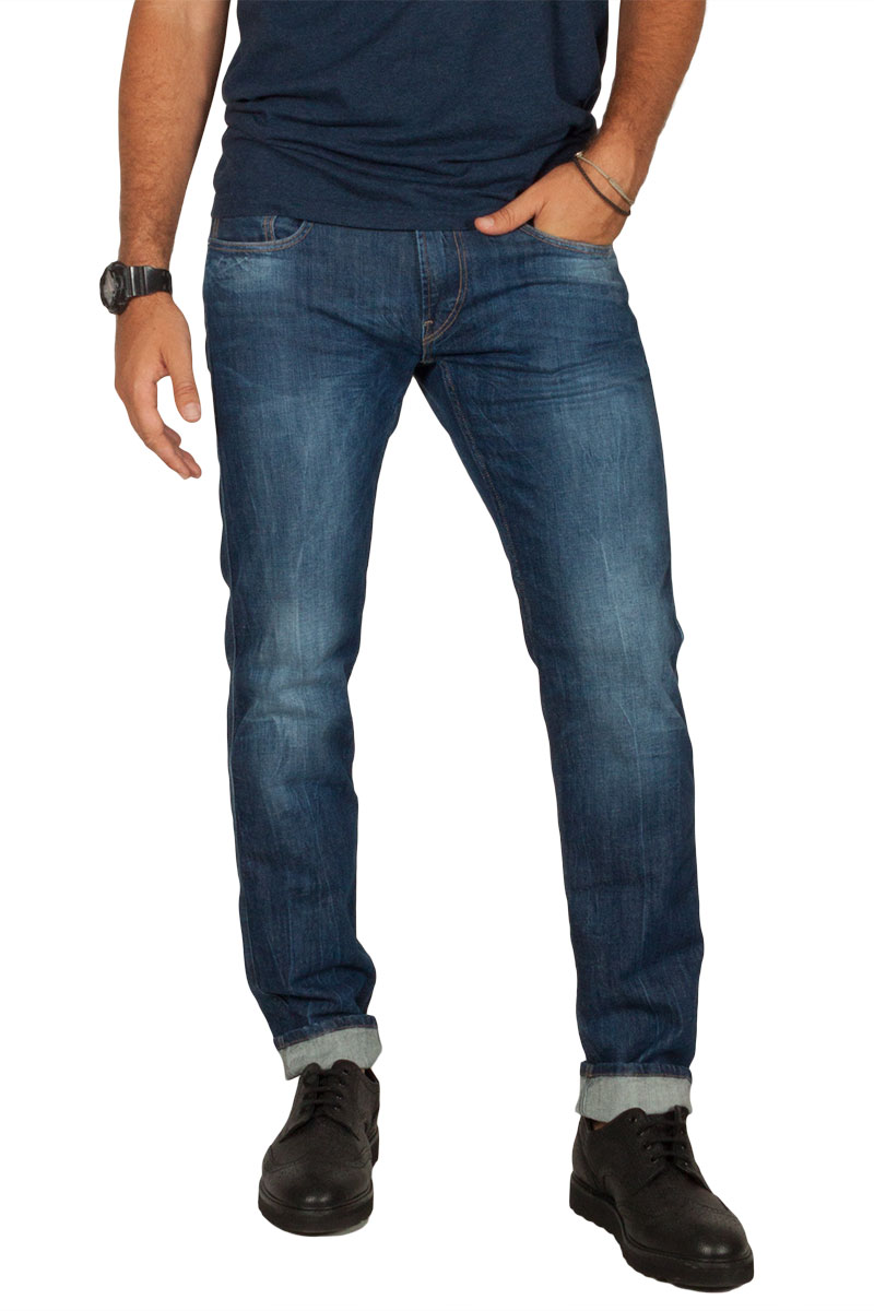 Replay Anbass slim fit jeans blue - m914-000-63c-923-007