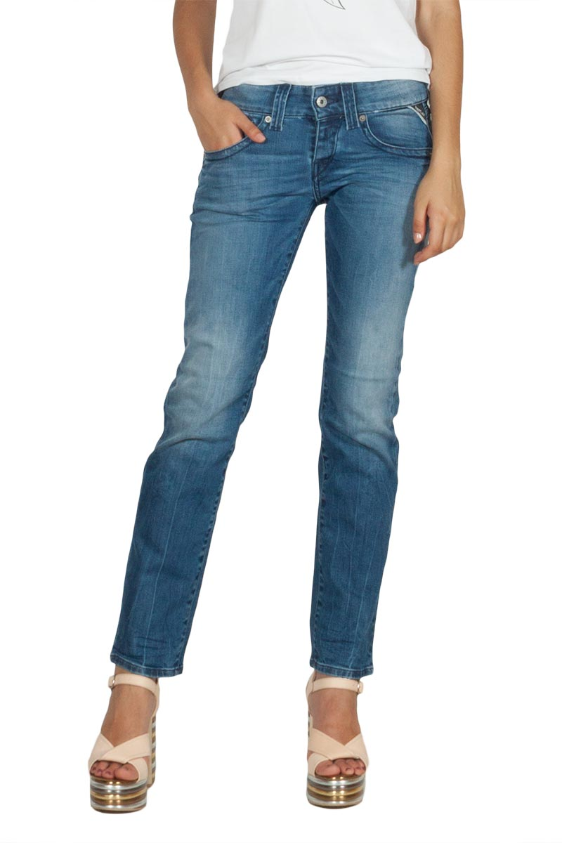 30f720f04064 Replay Newswenfani relaxed fit jeans deep blue - wx661-000-93c-262-