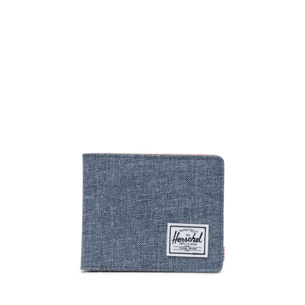 Herschel Supply Co. Hank wallet chambray crosshatch/tan RFID - 10368-01570-os