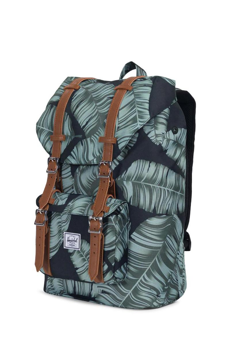 733fcf7e713f Little America mid volume backpack black palm Herschel Supply Co. Little  America mid volume backpack black palm ...
