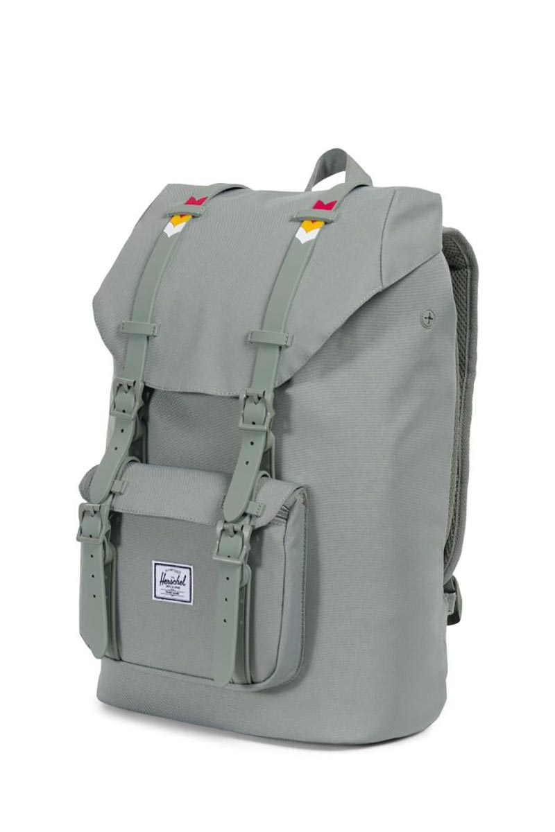 b0796ba3dcfd ... Herschel Supply Co. Little America mid volume backpack shadow chevron  ...