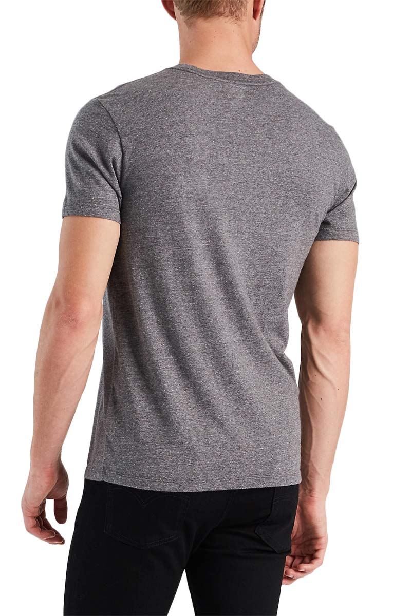 Men's LEVI'S® Original Tee tri-blend and patch obsidian heather