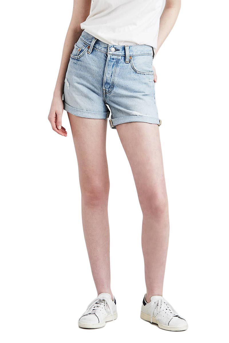 LEVI'S 501® long shorts north beach blues - 29961-0004