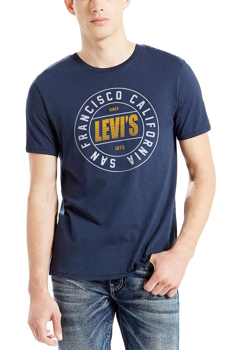 LEVI'S® graphic T-shirt 2.0 blue - 54914-0199