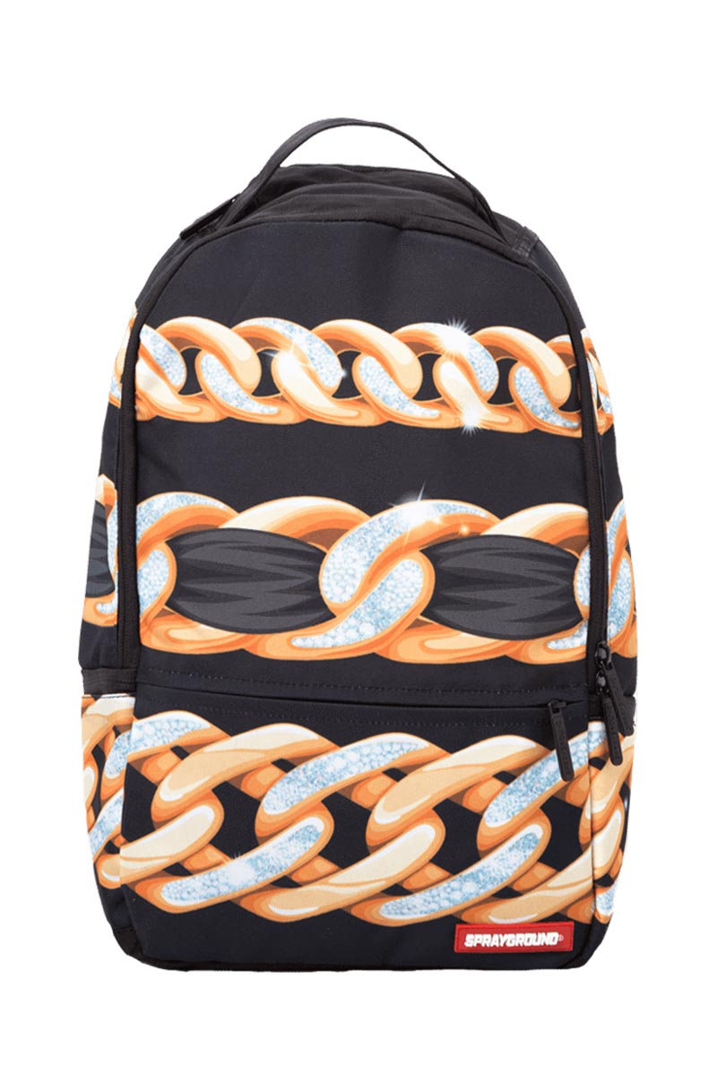 Sprayground Diamonds in Paris backpack