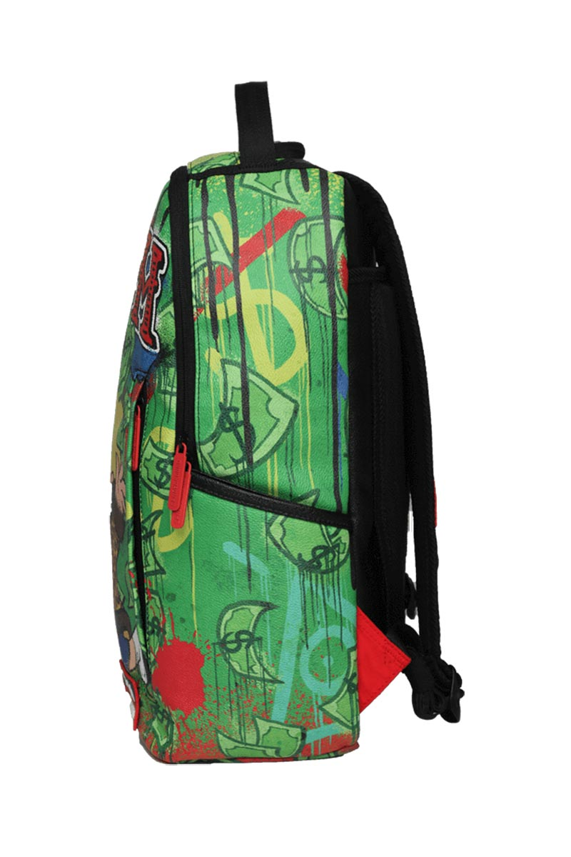 Sprayground Richie rich raining cash backpack