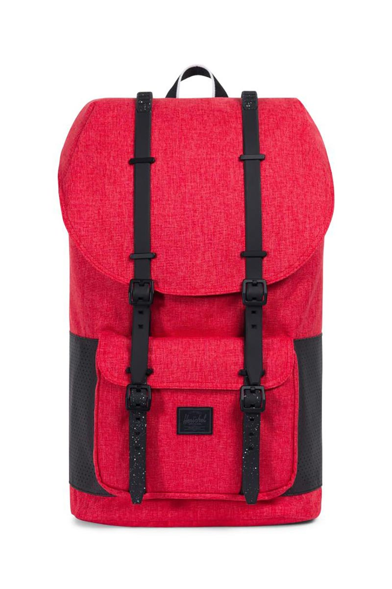 Herschel Supply Co. Little America Aspect backpack barbados cherry crosshatch/black - 10014-02091-os