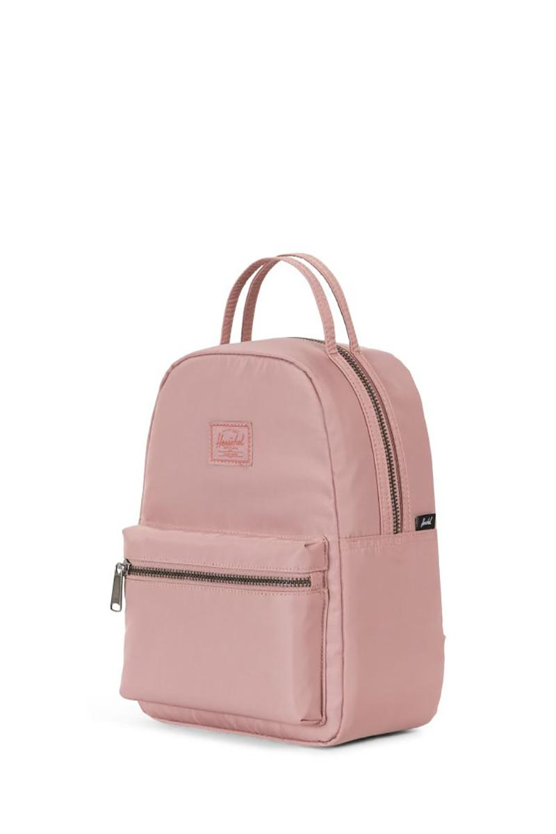 3533f53508 Herschel Nova mini backpack ash rose satin