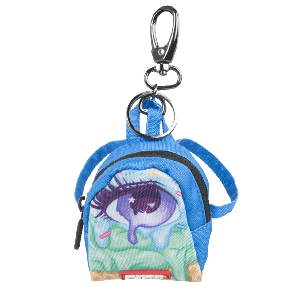 Sprayground right eye scream keychain