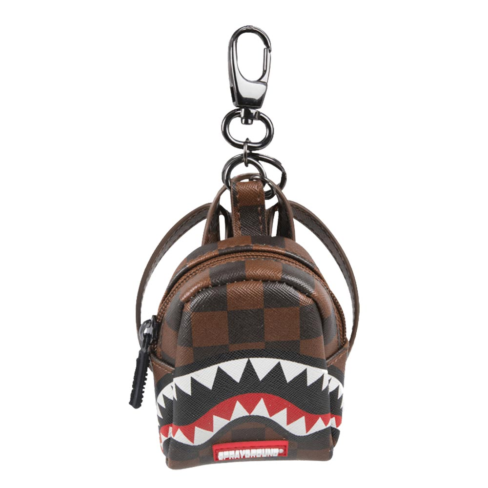 Sprayground sharks in paris keychain