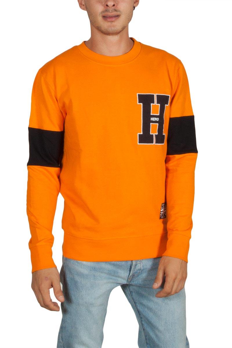 Hero's Heroine College H ανδρικό φούτερ πορτοκαλί