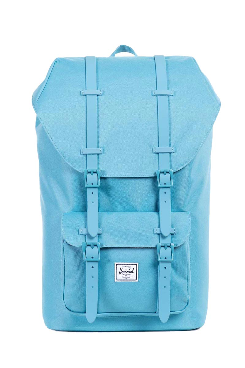 Herschel Supply Co. Σακίδιο πλάτης Little America Classic shallow  sea shallow sea rubber ... 8f6accdaf4e