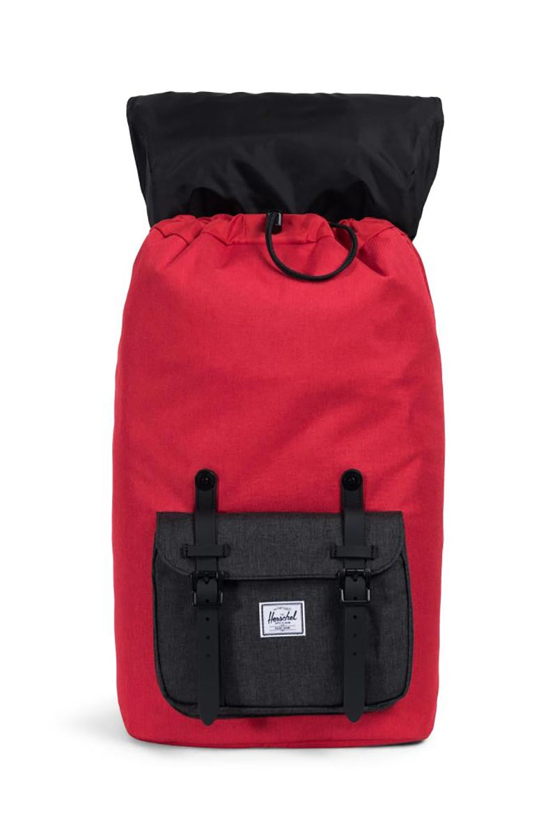 882a625fee72 ... crosshatch Herschel Supply Co. Little America backpack barbados cherry  crosshatch black crosshatch ...