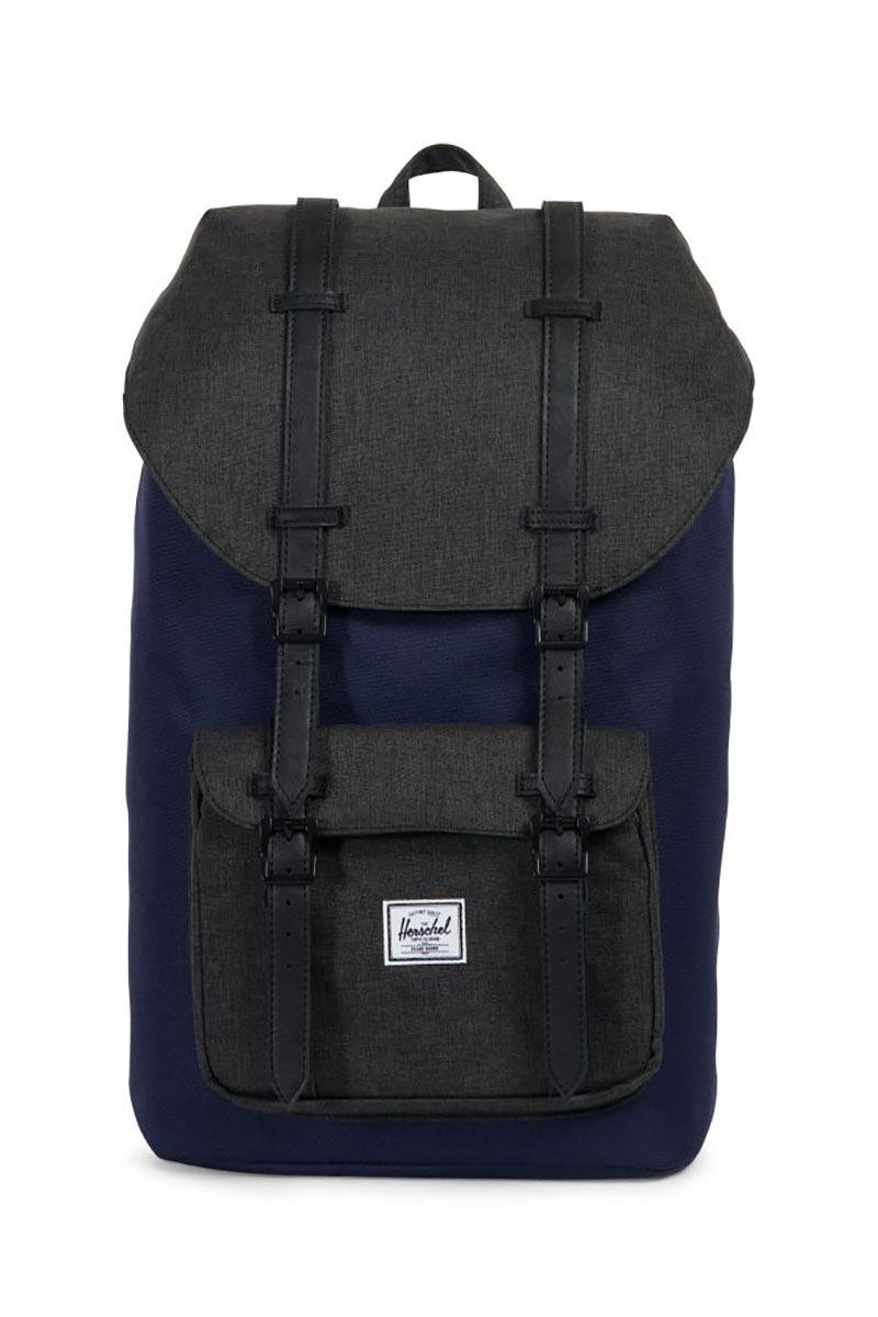 Herschel Supply Co. Little America backpack peacoat/black crosshatch