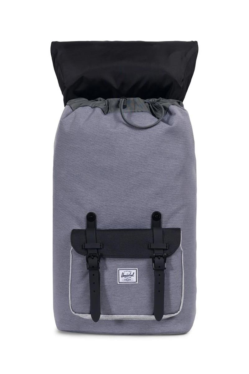 Herschel Supply Co. Little America backpack mid grey crosshatch/black/light grey crosshatch