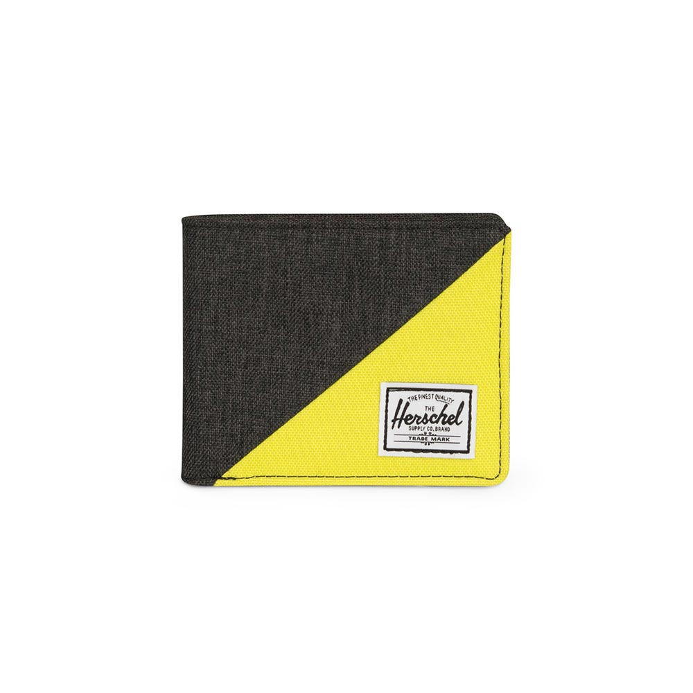 Herschel Supply Co. Roy RFID wallet black crosshatch/evening primrose - 10363-02102-os