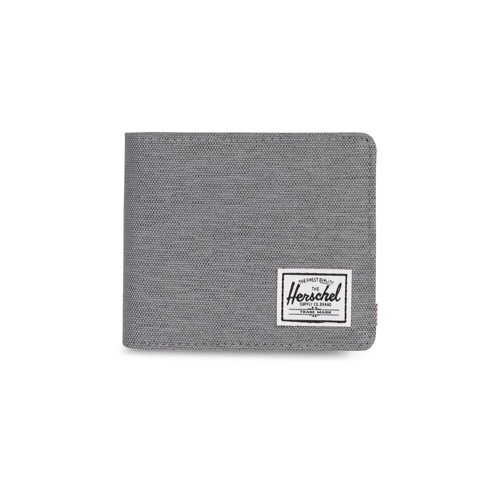 Herschel Supply Co. Roy XL coin wallet RFID mid grey crosshatch - 10404-02137-os