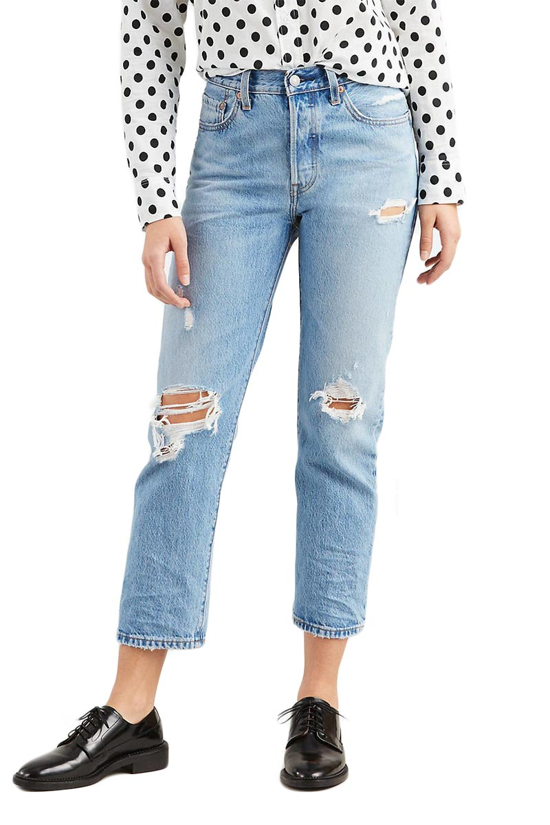 LEVI'S 501® original cropped jeans authentically yours - 36200-0012