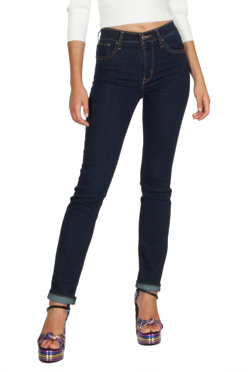 LEVI'S® 724 high rise straight jeans cast shadows - 18883-0022