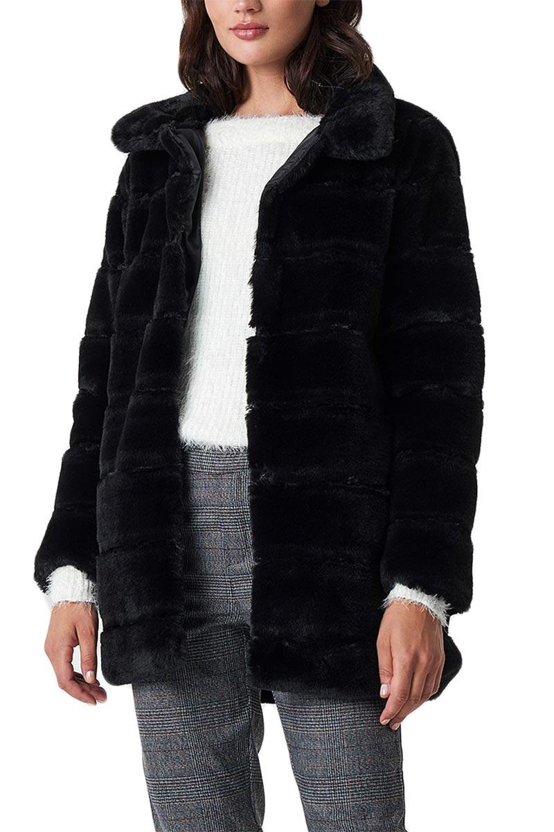 Rut   Circle panel faux fur γούνα μαύρη - 1031-005316-0002 68fa6e4e4b1