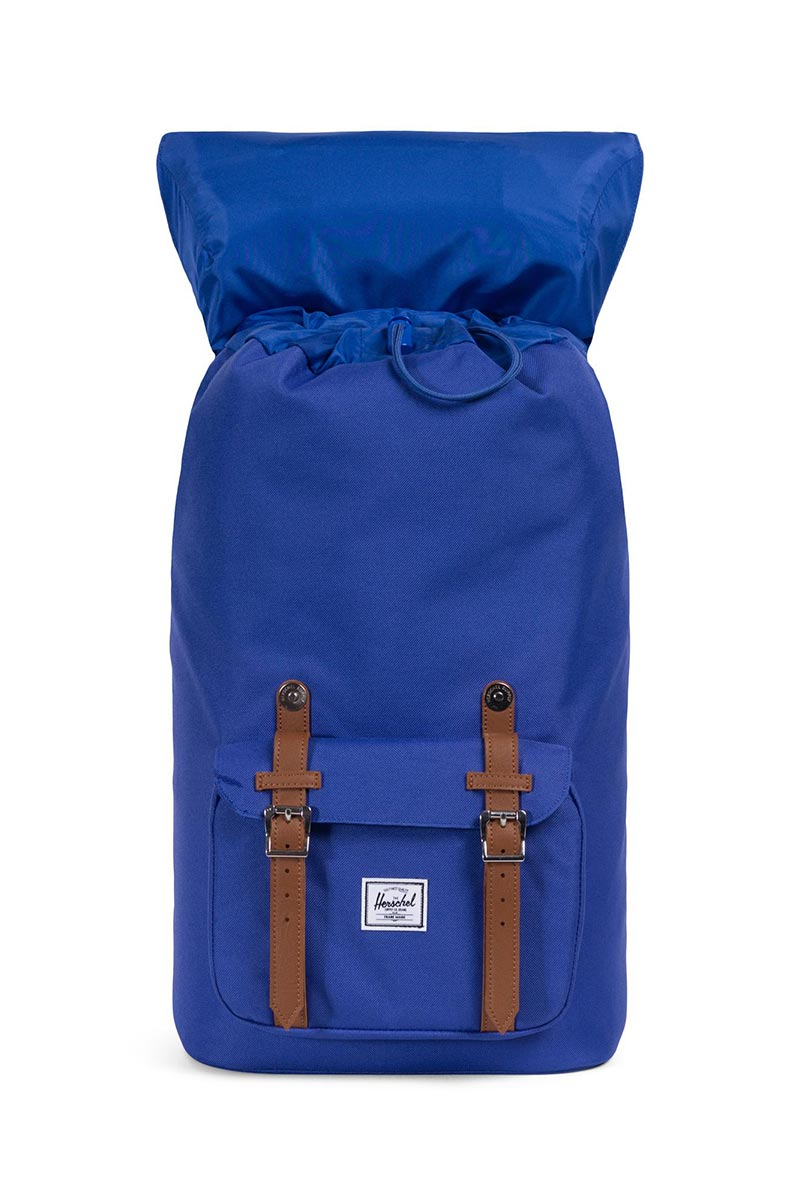 Herschel Supply Co. Little America backpack deep ultramarine/tan