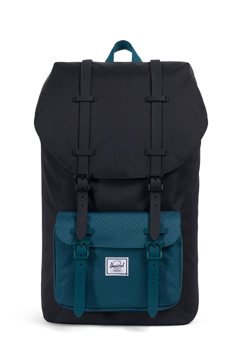 Herschel Supply Co. Little America backpack black/deep teal