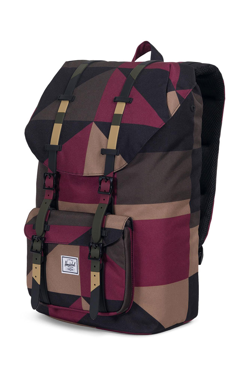 Herschel Supply Co. Little America backpack windsor wine frontier geo