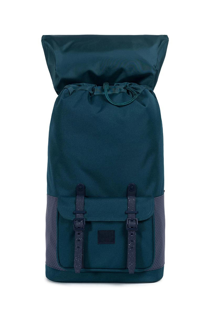 Herschel Supply Co. Little America Aspect backpack deep teal/peacoat/barbados cherry