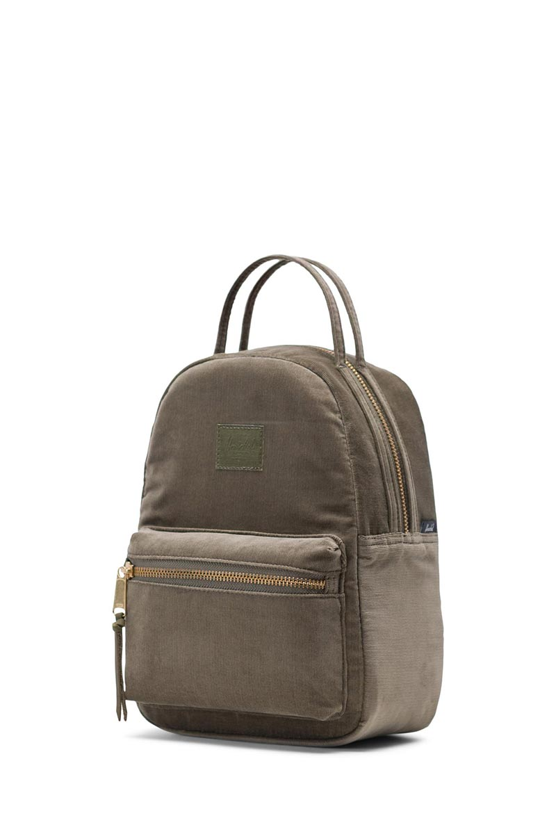 79521b5e3d3 Herschel Nova mini backpack corduroy ivy green