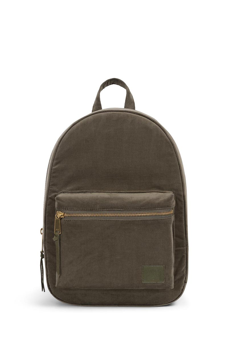 a0e565335ef Herschel backpack Grove XS corduroy ivy green