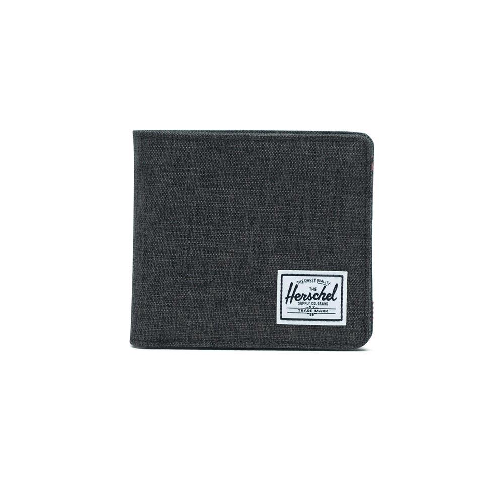 Herschel Supply Co. Hans XL coin wallet RFID black crosshatch - 10487-02090-os