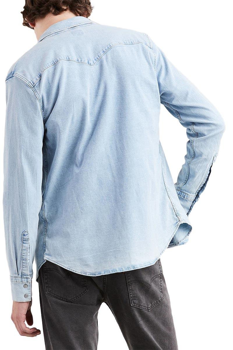 Green Cast Barstow Western Levi's Shirt Light 1JKTlcF3