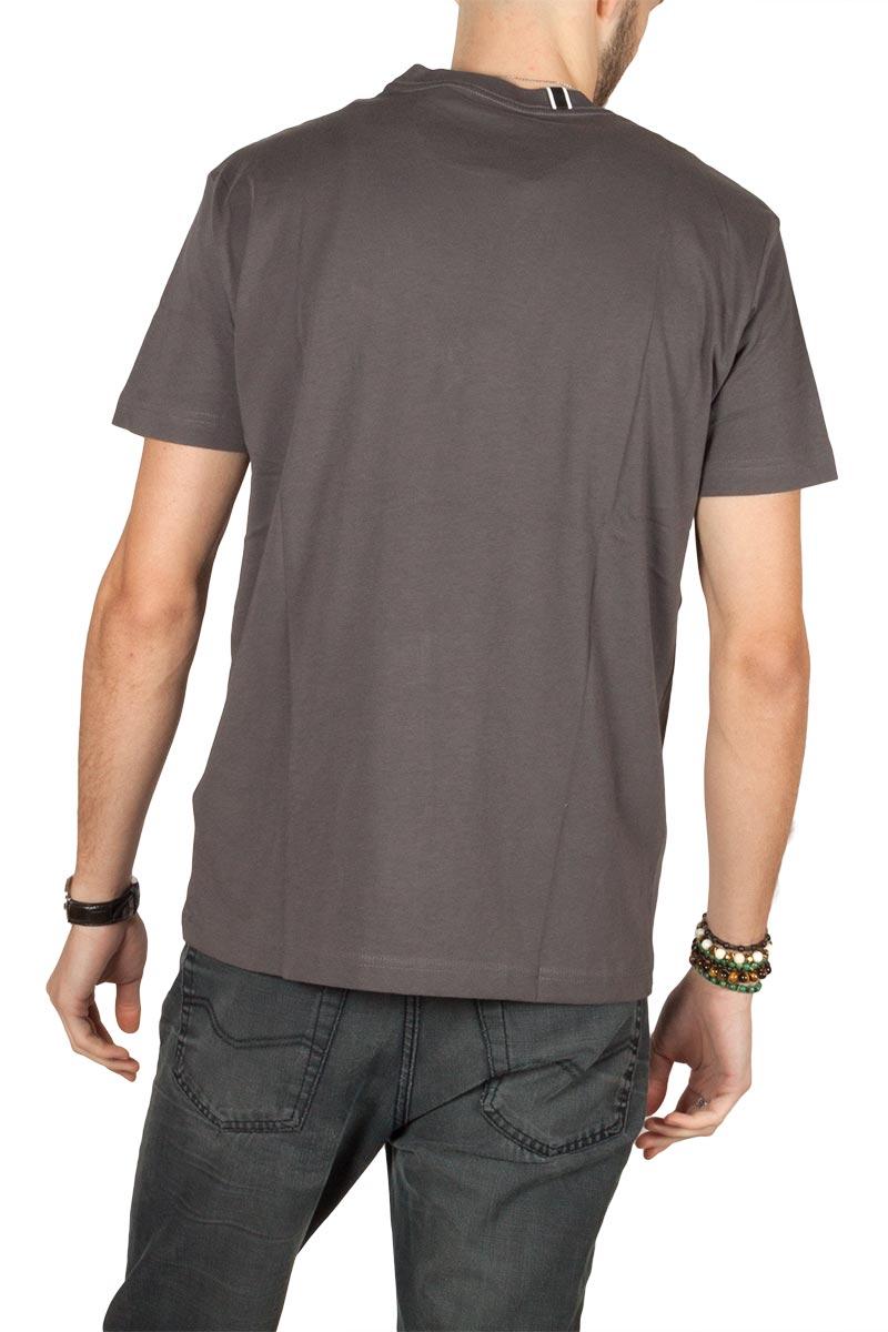 Replay t-shirt Venomous print slate grey