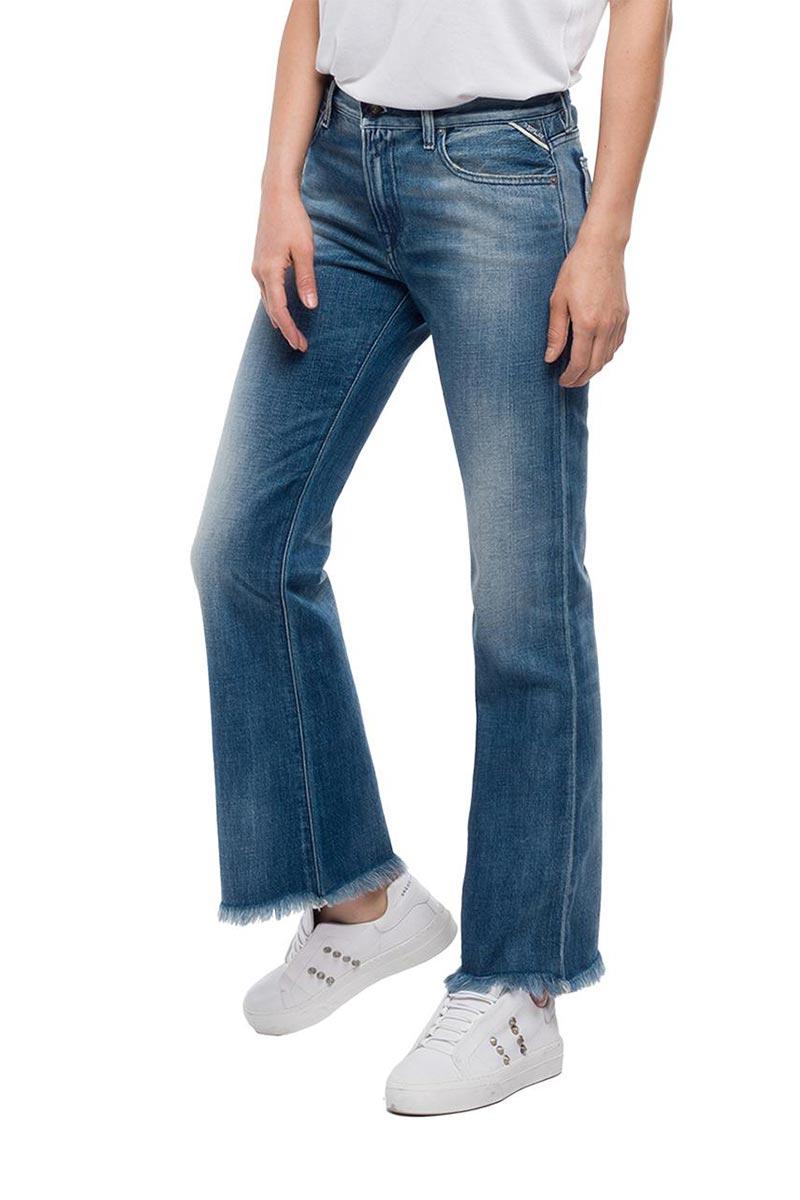 Replay cropped fit Carlida jeans medium dark