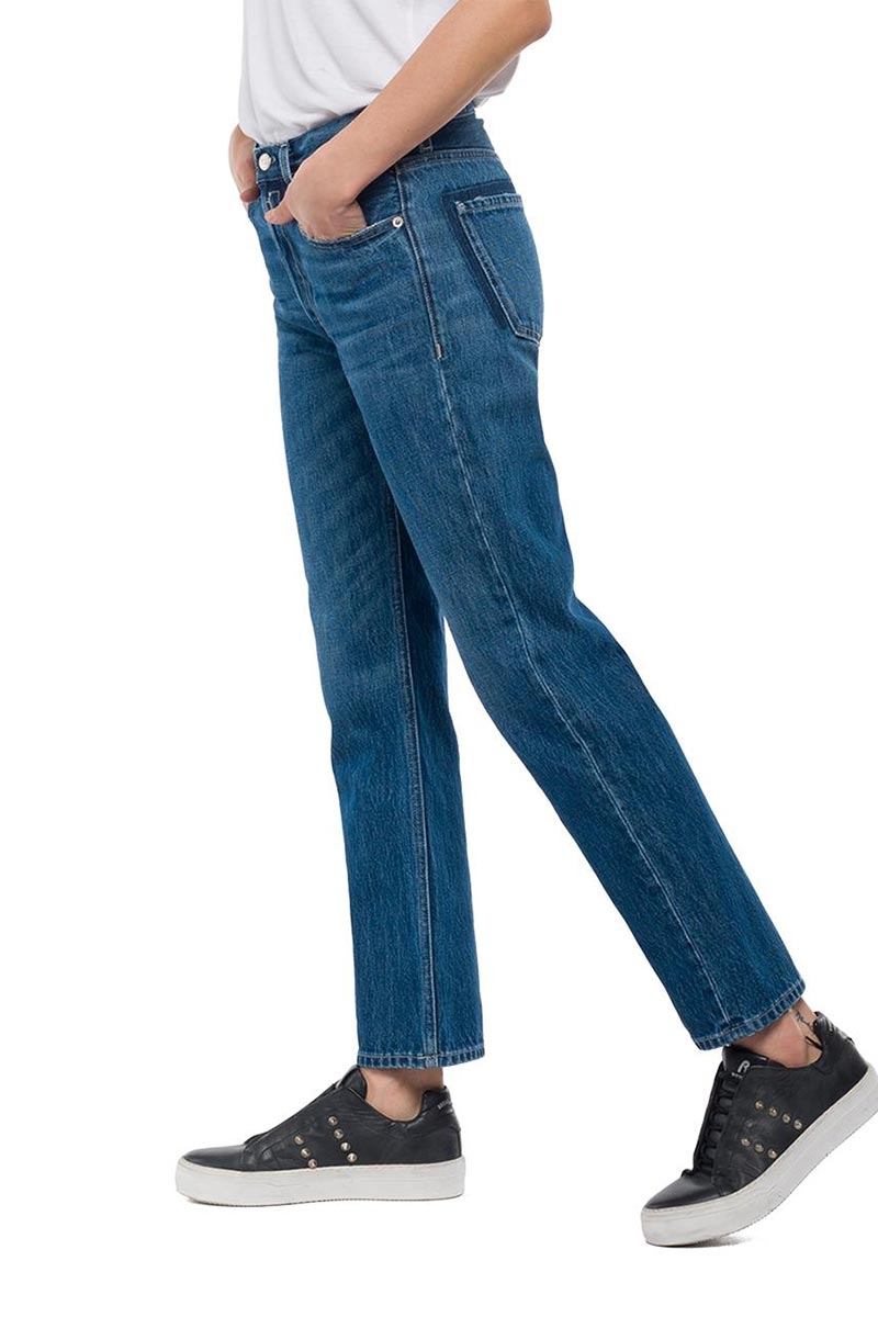 Replay cropped fit Alexys jeans medium dark