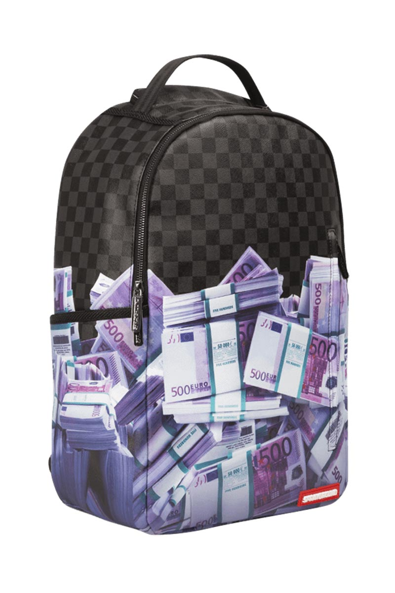 Sprayground backpack 500 Euros banned