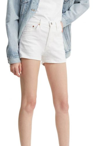 Levi's 501® high rise shorts in the clouds