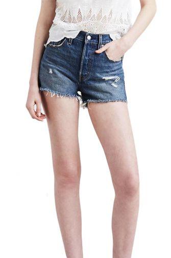 Levi's® 501 high rise shorts drive me crazy