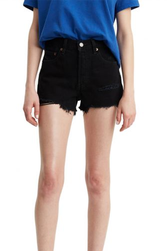 Levi's® 501 high rise shorts lets roll