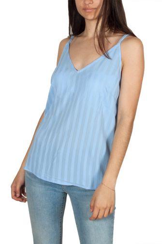 Rut & Circle cross back τιραντέ μπλούζα γαλάζια