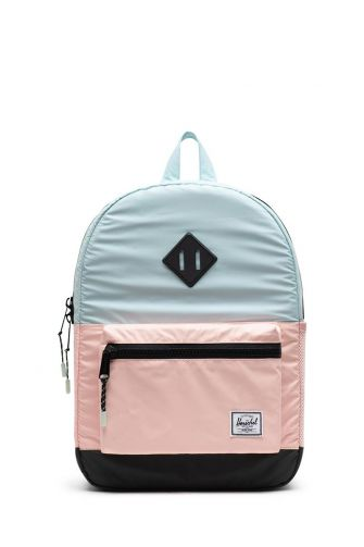 Herschel Supply Co. Heritage Youth backpack reflective glacier/cameo rose/black