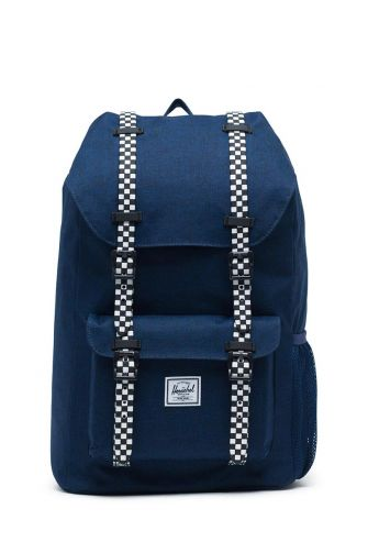 Herschel Supply Co. Little America Youth backpack medieval blue crosshatch/checkerboard