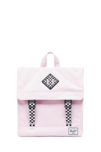 Herschel Supply Co. Survey Kids backpack pink lady crosshatch/checkerboard
