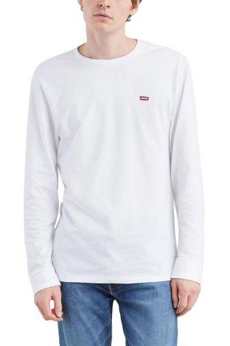 Levi's® Long sleeve original Logo tee white