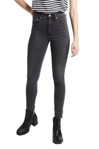 Levi's® Mile high super skinny jeans smoke show - grey