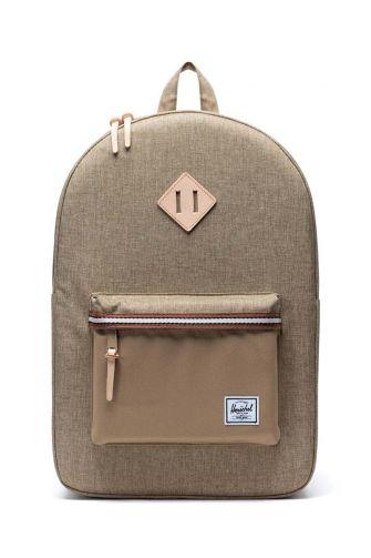 Herschel Supply Co. Heritage Offset backpack kelp crosshatch/kelp