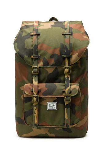 Herschel Supply Co. Little America backpack woodland camo