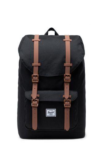 Herschel Supply Co. Little America mid volume backpack black/saddle brown