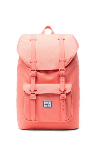 Herschel Supply Co. Little America mid volume backpack fresh salmon/rubber