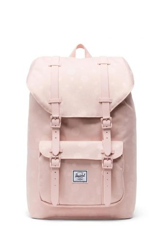 Herschel Supply Co. Little America mid volume backpack ploka cameo rose/rubber